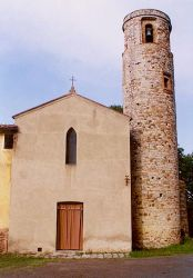 Romanesque Parish Church at Pacina