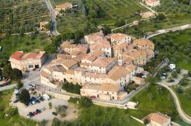 Aerial view of San Gusmè